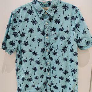 Hollister Short Sleeve Dress Shirt Epic Flex Large